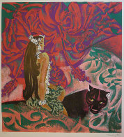 Black Panther 1989 39x37 Super Huge  Limited Edition Print by Zhou Ling - 0