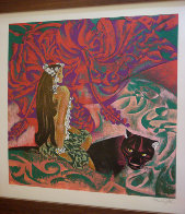 Black Panther 1989 39x37 Super Huge  Limited Edition Print by Zhou Ling - 1