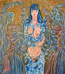 Goddess of the Roses 1997 Limited Edition Print - Zhou Ling