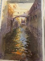 Venice Canal Limited Edition Print by J. Torrents Llado - 1