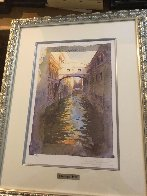 Venice Canal Limited Edition Print by J. Torrents Llado - 2