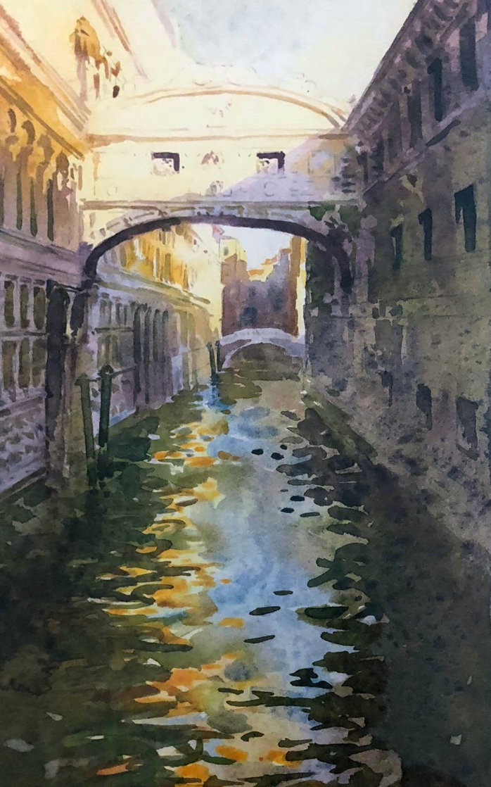 Venice Canal Limited Edition Print by J. Torrents Llado
