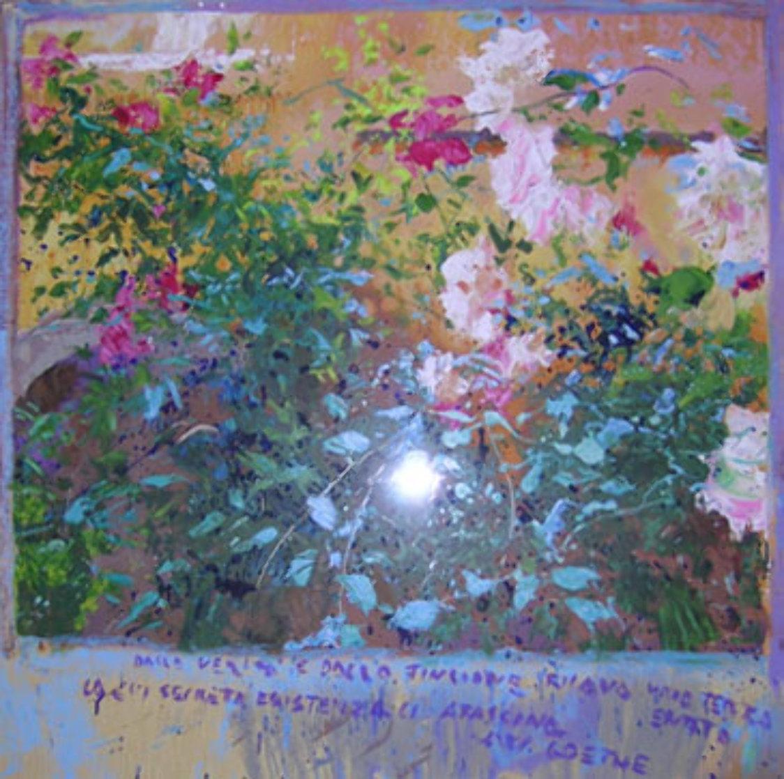 Rosas (El Poema De Goethe) 1992 Limited Edition Print by J. Torrents Llado