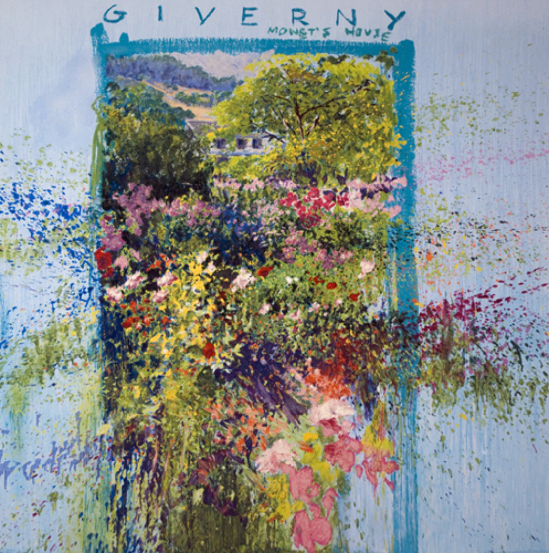 Fleurs De Giverny Limited Edition Print by J. Torrents Llado