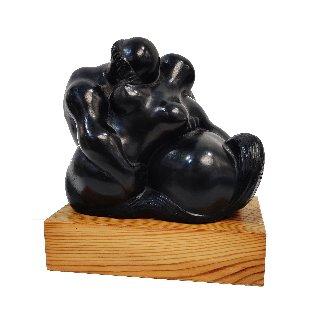 La Femme Et Le Centaure Bronze Sculpture 1968 6 in Sculpture - Balthazar Lobo