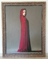 Marie 2003 49x37 Original Painting by Taras Loboda - 3