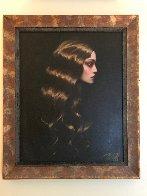 Golden Hair 38x32 Original Painting by Taras Loboda - 3