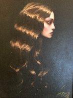 Golden Hair 38x32 Original Painting by Taras Loboda - 1