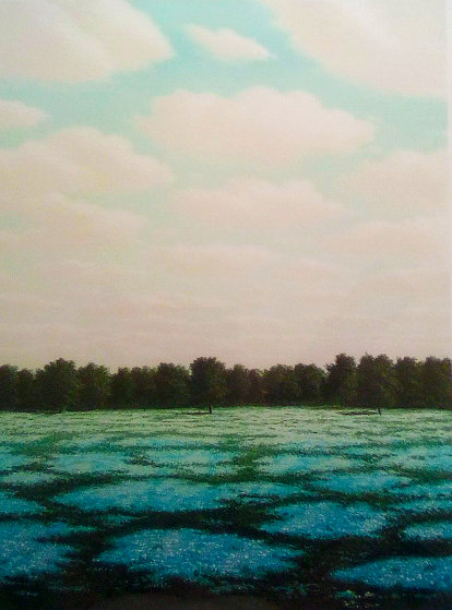 Clouds 1980  Limited Edition Print by Thomas Locker