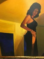 Private Dancer 1997 59x59 Super Huge Original Painting by Ramon Lombarte - 2