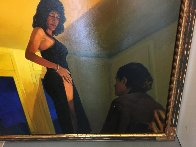 Private Dancer 1997 59x59 Super Huge Original Painting by Ramon Lombarte - 3