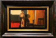 No Te Quites Us Manos 1998 16x24 Original Painting by Ramon Lombarte - 1