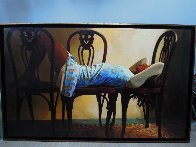 Yes Possible 1995 41x67 Super Huge Original Painting by Ramon Lombarte - 9