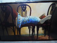 Yes Possible 1995 41x67 Super Huge Original Painting by Ramon Lombarte - 10