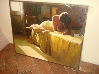 No. 3 At the Ritz 1988 31x39 Original Painting by Ramon Lombarte - 1