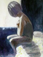 Woman 1999 20x15 Original Painting by Ramon Lombarte - 1