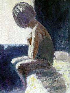 Woman 1999 20x14 Original Painting by Ramon Lombarte
