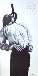 Men in the Cities Lithograph / Poster 1994 Limited Edition Print by Robert Longo