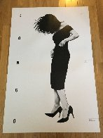 Gretchen Poster 1985 Limited Edition Print by Robert Longo - 1