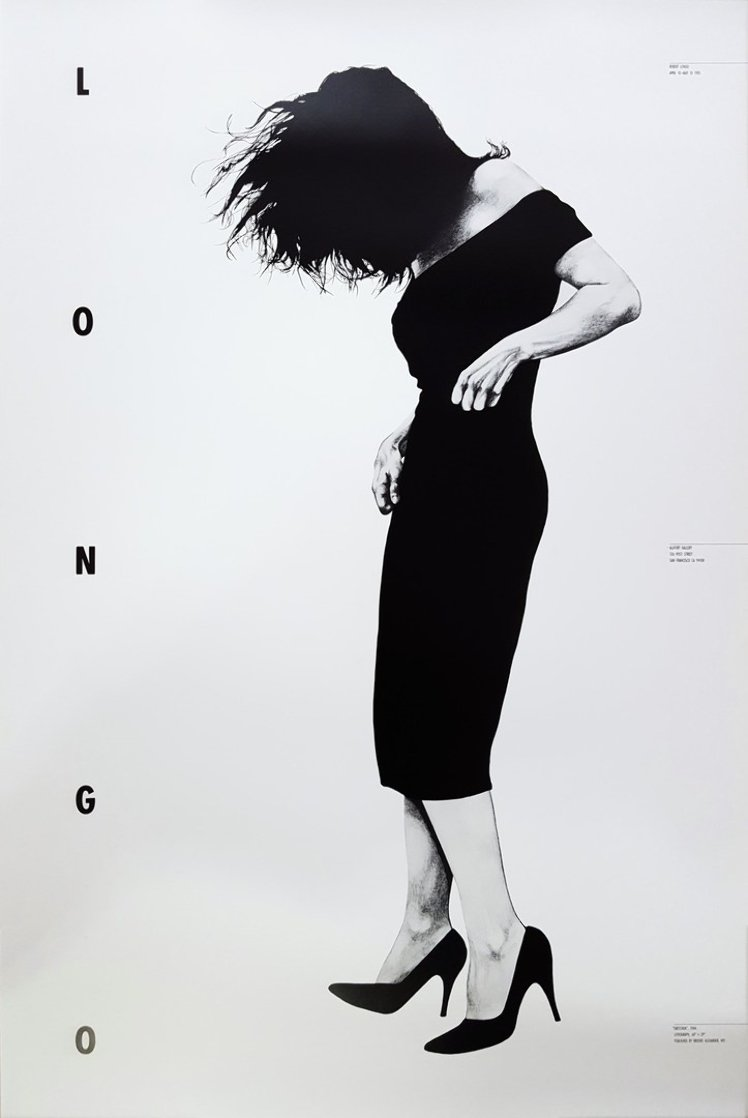 Gretchen Poster 1985 Limited Edition Print by Robert Longo