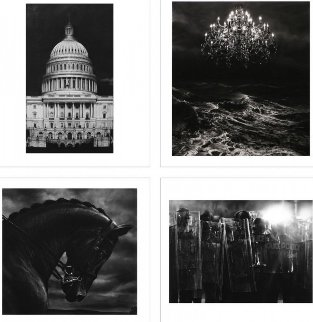 Charcoal Portfolio Suite of 4 2013 Limited Edition Print by Robert Longo