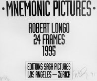 Mnemonic Pictures (24 Frames in the Box) AP 1995 Limited Edition Print by Robert Longo - 2