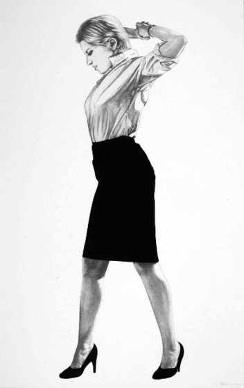 Cindy, From Men in Cities 2002 Limited Edition Print by Robert Longo