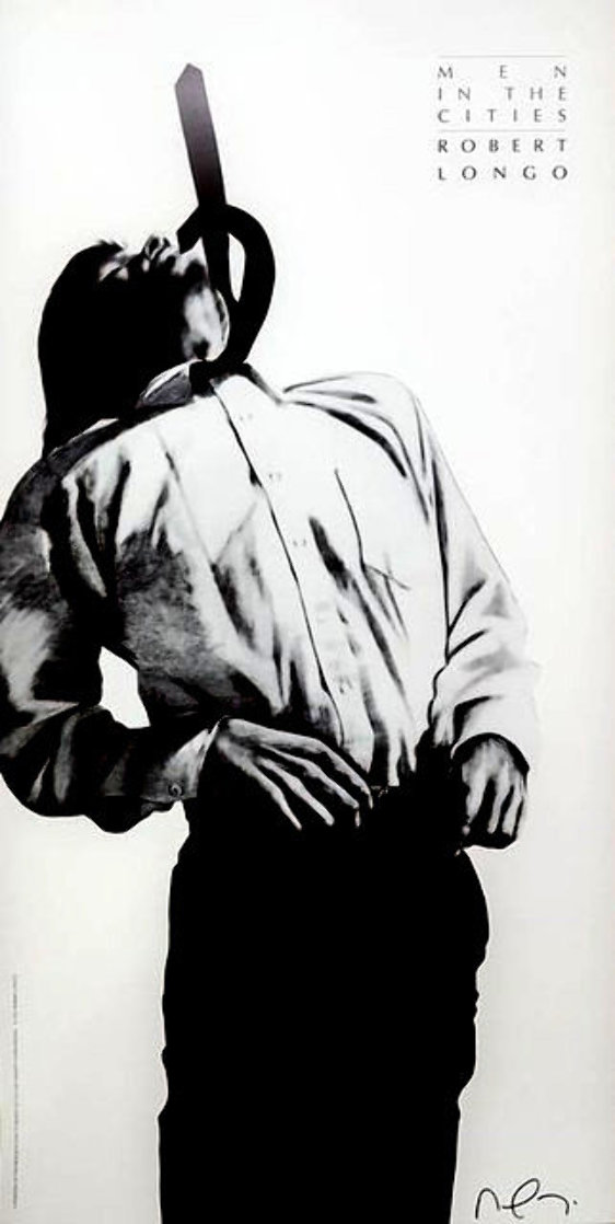 Eric: Men in Cities 1991 Limited Edition Print by Robert Longo