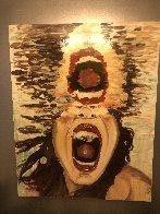 Scream 60x47 Super Huge Original Painting by Ashley Longshore - 1