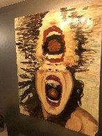 Scream 60x47 Super Huge Original Painting by Ashley Longshore - 2