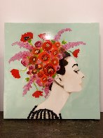 Audrey 24x24 Original Painting by Ashley Longshore - 1