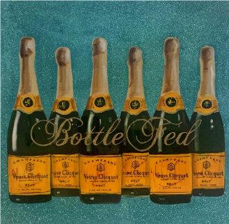 Bottle Fed 36x36 Original Painting - Ashley Longshore