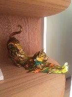 Gatin Cat Bronze Sculpture 2016 11 in Sculpture by Nano Lopez - 1