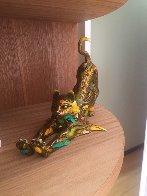 Gatin Cat Bronze Sculpture 2016 11 in Sculpture by Nano Lopez - 3