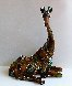 Tina Bronze Sculpture 2009 16 in with Lithograph Sculpture by Nano Lopez - 4