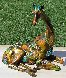 Tina Bronze Sculpture 2009 16 in with Lithograph Sculpture by Nano Lopez - 7