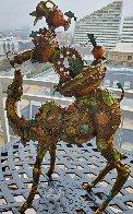 Phillipe III Jr. Bronze Sculpture 2008 22 in Sculpture by Nano Lopez - 1