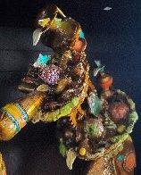 Phillipe III Jr. Bronze Sculpture 2008 22 in Sculpture by Nano Lopez - 5