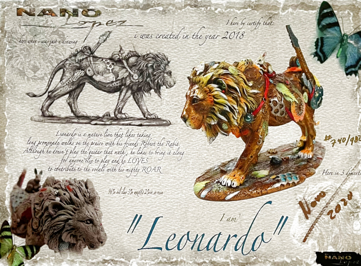 Leonardo 2020 Limited Edition Print by Nano Lopez