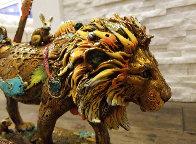Leonardo Bronze Sculpture  2018 15 in Sculpture by Nano Lopez - 9