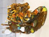 Leonardo Bronze Sculpture  2018 15 in Sculpture by Nano Lopez - 3