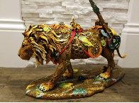 Leonardo Bronze Sculpture  2018 15 in Sculpture by Nano Lopez - 5