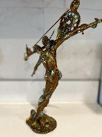 Man Balance (Small) Bronze Sculpture 2016 13 in Sculpture by Nano Lopez - 2