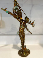 Man Balance (Small) Bronze Sculpture 2016 13 in Sculpture by Nano Lopez - 3