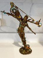 Man Balance (Small) Bronze Sculpture 2016 13 in Sculpture by Nano Lopez - 4