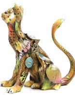 Sally (Small Cat)  Bronze Sculpture 2015 5 in Sculpture by Nano Lopez - 2