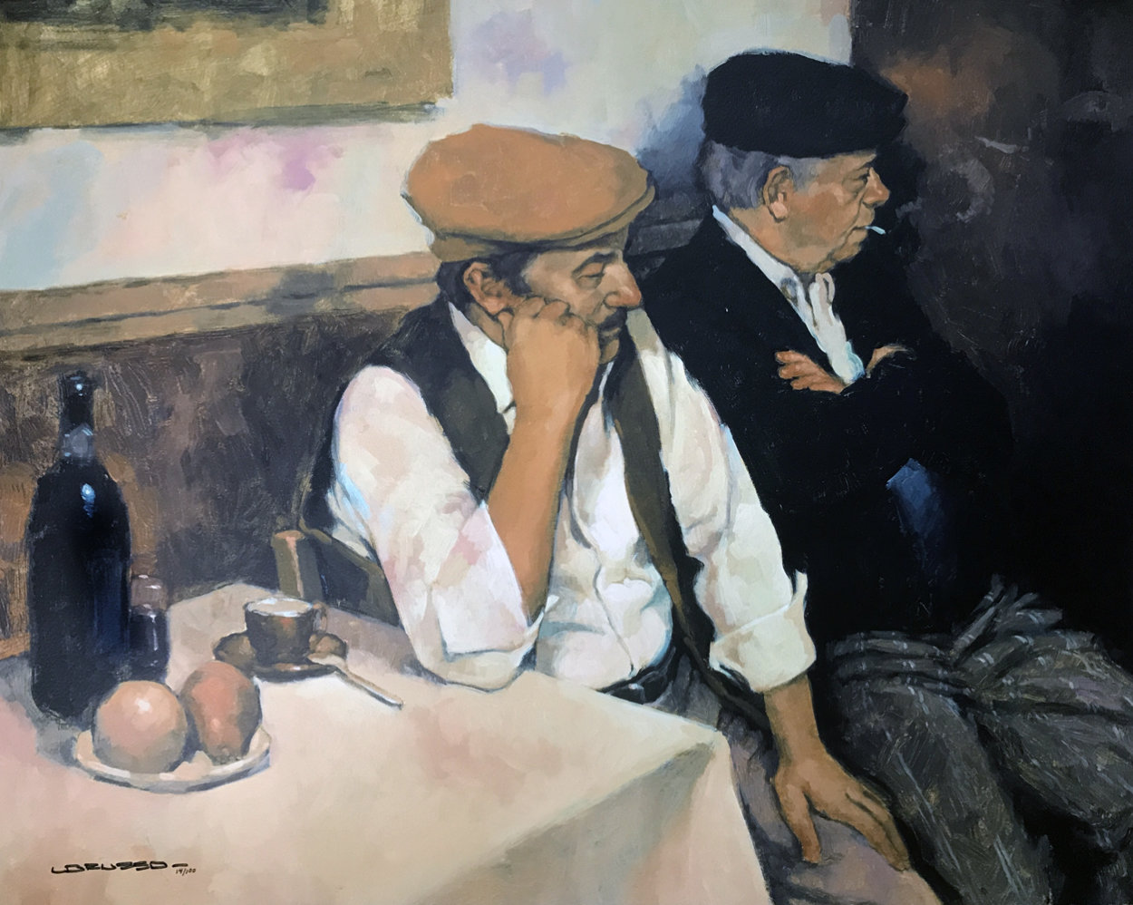 Italian Brothers Limited Edition Print by Joseph Lorusso