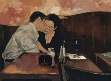 Table For Two Limited Edition Print - Joseph Lorusso