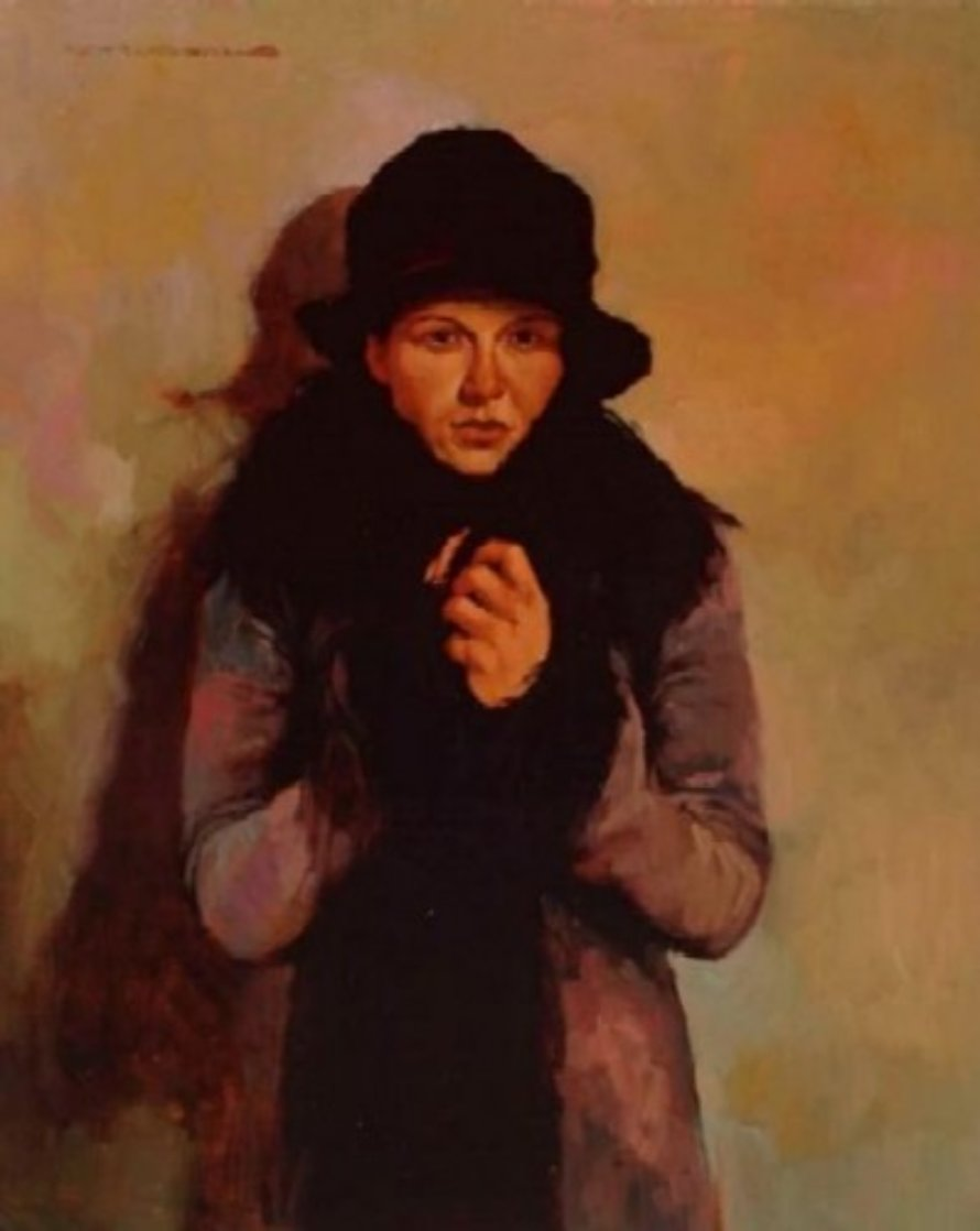Her Favorite Coat 2002   Limited Edition Print by Joseph Lorusso