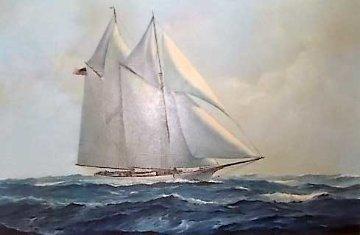 America Original Painting - Richard K.  Loud